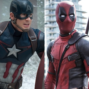 Captain America, Chris Evans, Deadpool, Ryan Reynolds